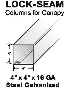 Column for Canopy