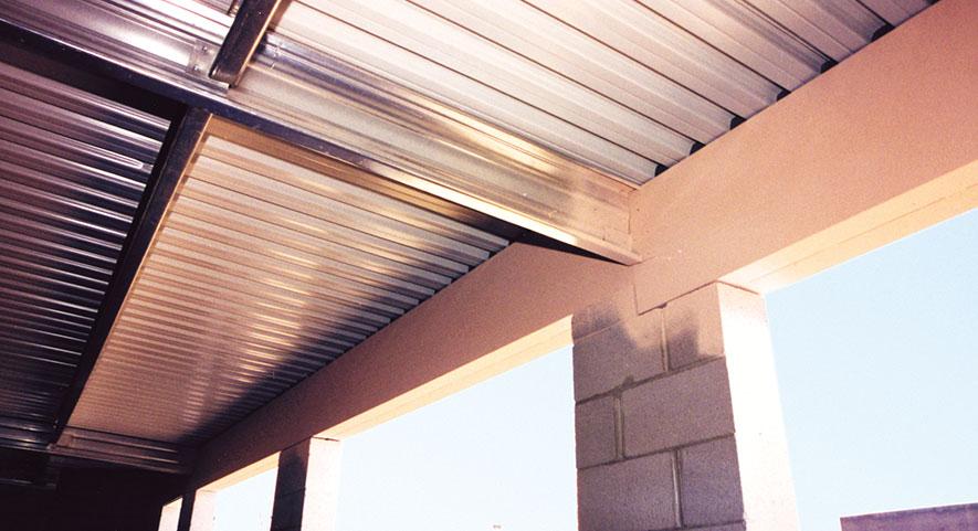 Steel Box Beam Ceiling